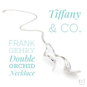 Tiffany & Co. Frank Gehry Double Orchid Necklace